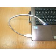Фонарь USB подсветки в блистере. фото