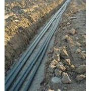 Прокладка кабелей, монтаж кабельных линий фото
