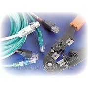 Монтаж локальной сети, настройка телефонных и телевизионных коммуникаций внутри помещения фото