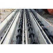 Прокладка кабеля напряжением 110 - 220 - 330 - 500 кВ с изоляцией из сшитого полиэтилена фото