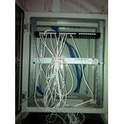 Строительство структурных кабельных сетей (СКС) фото