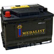 "Аккумулятор ""Мedalist"" 75D23 L/R (60А/ч) 231х173х224"
