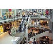 Монтаж системы видеонаблюдения в торговом центре фото
