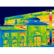 Тепловизионный контроль объектов строительства фото