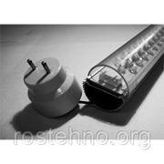 Коннектор для ламп Т8 фото