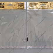 Пакет ВОРР с усиленным белым еврослотом с клапаном с клеющей лентой 2+2 фото
