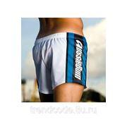 Шорты мужские AUSSIEBUM мод. AB7008 синяя полоса фото