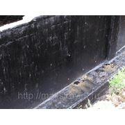 Гидроизоляция фундаментов. фото