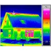 Термографическое обследование здания фото