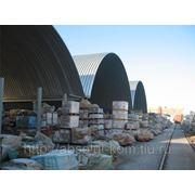 Строительство бескаркасного быстровозводимого склада фото