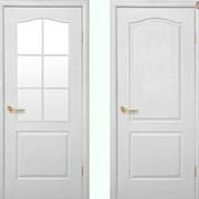 Дверь из бруса Новый стиль Фортис АВ белый фото