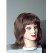 Полу-парик накладка из натуральных волос для женщин,детей и мужчинженщин фото