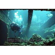 Обследование подводных сооружений фото