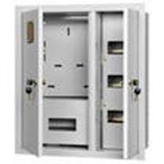Щит учетно-распределительный встраиваемый ЩРУВ 3/30 2-х дверный IP31 (530х620х165) EKF фото