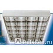 Светильник накладной д/подвесного потолка стартерный 4х18 (б/лампы), шт фото