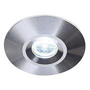 Светильник встраиваемый с тепло-белым POWER LED SIMIT матированный алюминий 111929