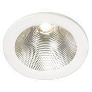 Светильник встраиваемый c белым теплым LED 15Вт, LED DOWNLIGHT белый 160402 фото