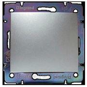 Выключатель Valena простой (алюминий) фото