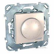 Schneider Electric MGU5.511.25ZD Светорегулятор Unica беж поворотный, 40-400w