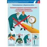 Комплект плакатов Обмуровка, гарнитура, насосы, дымососы фото