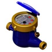 Счётчик воды многоструйный крыльчатый (мокроход) MNK – UA С, 20 мм фото