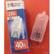 Галогенная лампа JazzWay 220v, 40w, 60w, цоколь G9 фото