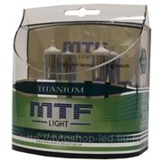 Галогеновые лампы MTF-Light Titanium H4 55W (4400K)