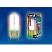 Лампа галогенная Uniel радужный свет 40W G9 230V