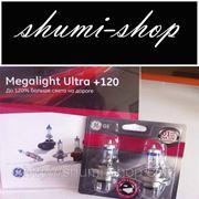 H4 Megalight Ultra 120 60/55W, P43t. Плюс 120% света. блистер фото
