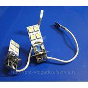 Автомобильные светодиодные лампы H3 8SMD