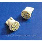 Автомобильные светодиодные лампы T10 4SMD A1210SMD