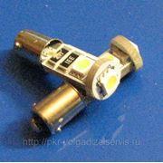 Автомобильные светодиодные лампы BA9S 3SMD фото