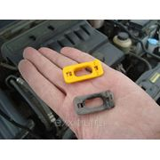 Chevrolet Lacetti:фиксатор упора крышки капота желтого цвета фото