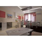 Дизайн кухни, столовой, обеденной зоны. фото