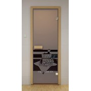 Дверь Арт серия с полноцветным рисунком ГлассДжет С легким паром фото
