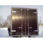 Ворота распашные на грузовой автомобиль фото