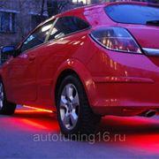 Светодиодная лента. Красный 3528 5м. фото