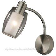 Подсветка Odeon Light с выключателем 2069/1A SINCO ODL11 366 матовый никель E14 1x40W фото