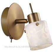 Подсветка Odeon Light с выключателем 2077/1W TERBO ODL11 346 бронза G9 1x40W фото