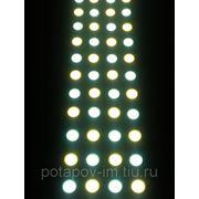 Яркая светодиодная двухцветная лента, 450 LED/метр фото
