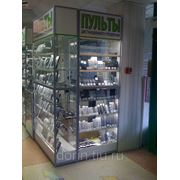 Изготовление витрин, прилавков, островных отделов из алюминиевого профиля фото