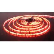 Светодиодные ленты - Светодиодная лента 60Led 4,8W IP65 красный нов