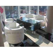 Кресло круглое для кафе фото