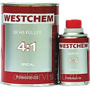 WESTCHEM FULLER 4+1 Грунт серый (0,75+0,2л) фото