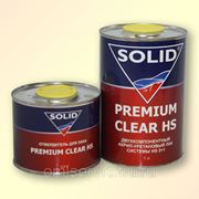 Лак Premium Clear HS 1л+0.5л SOLID фото
