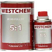 WESTCHEM FULLER 5+1 Грунт серый (0,8+0,16л) фото