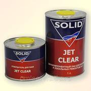 JET CLEAR (1л) двухкомп. экспресс лак 2+1 SOLID фото