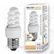 Лампа Т2 SPC 9 Вт. Е14 4200 энергосберегающая спиральная