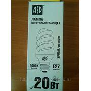 Лампа эсб Spiral-econom 20 Вт Е27 4000К фото