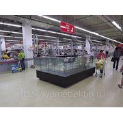 Торговое оборудование -Витрина из стекла на заказ фото